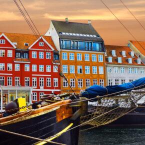 Wundervolles Dänemark: 3 Tage Kopenhagen mit Hotel & Flug nur 82€