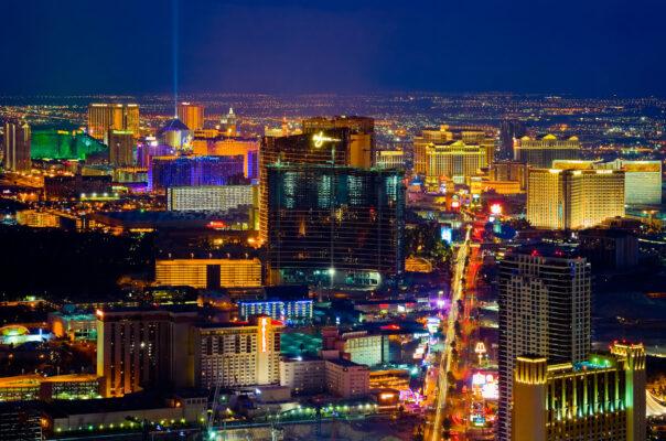 Vegas Panorama bei Nacht