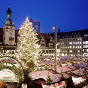Weihnachtsmarkt: 2 Tage Leipzig mit Unterkunft & Stadtblick für 19€