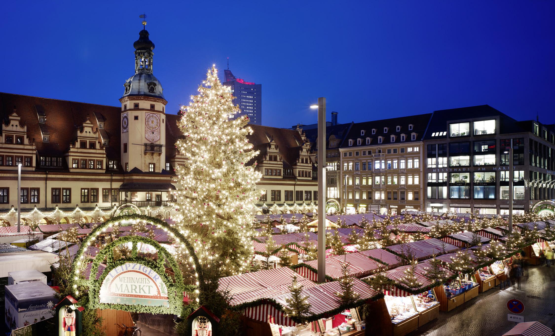 Leipziger Weihnachtsmarkt.Weihnachtsmarkt 2 Tage Leipzig Mit Unterkunft Stadtblick