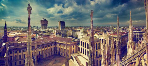 Mailand Duomo Panorama