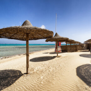 7 Tage Hurghada im TOP 5* GOLD AWARD Dana Beach Resort mit All Inclusive, Flug, Transfer & Zug nur 483€