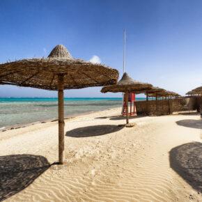 6 Tage Hurghada im TOP 5* Dana Beach Resort mit All Inclusive, Flug, Transfer & Zug nur 433€