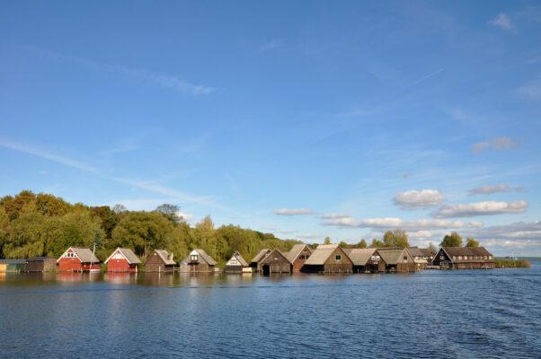 Mecklenburgische Seenplatte Häuser