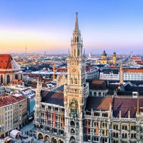Silvester in München: 2 Tage im 4* Hotel mit Frühstück nur 37 €