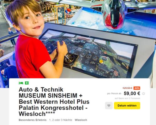 Museum Sinsheim mit Hotel
