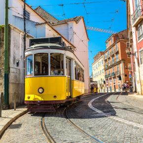 Wochenendtrip: 4 Tage Lissabon mit Flug & Unterkunft für 73€