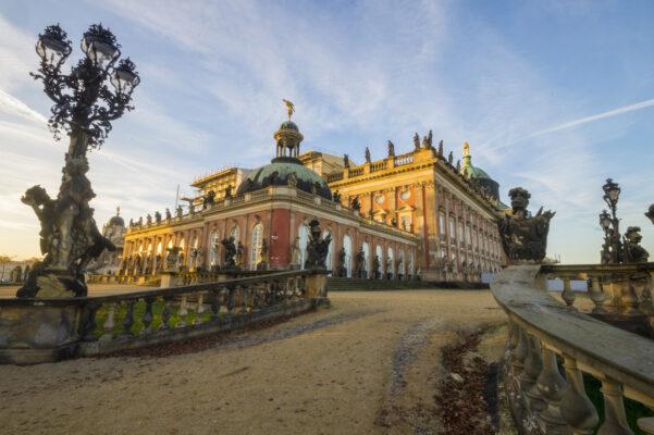 Potsdam Zugang Schloss