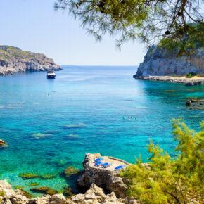 Single Frühbucher Griechenland: 7 Tage Rhodos im 3* Hotel mit All Inclusive, Flug & Transfer nur 381€