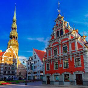 Lettland: Günstige Hin- & Rückflüge für 5€