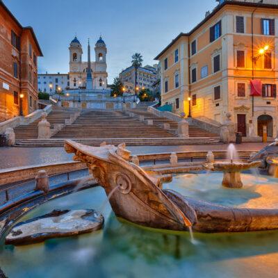 Rom Spanish Steps