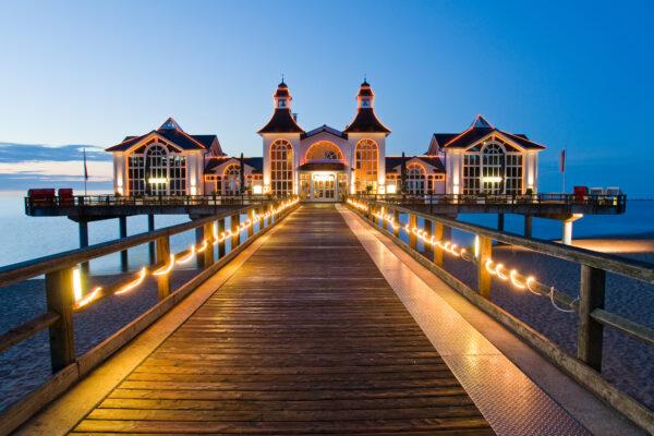 Rügen Urlaub: Seebrücke Sellin