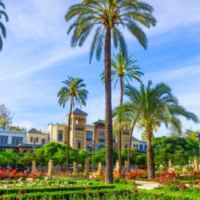 Langes Wochenende in Spanien: 4 Tage in Sevilla im TOP Hotel mit Frühstück & Flug nur 97€