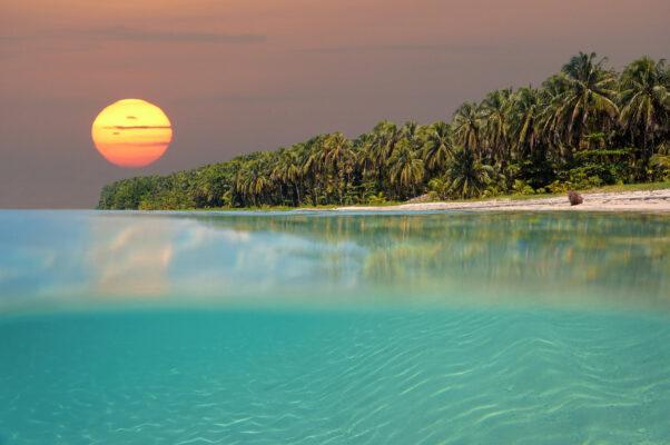 Sonneuntergang Bocas del Toro, Panama