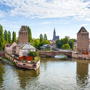 Wochenend-Kurztrip nach Straßburg: 2 Tage im 3* Hotel mit Frühstück für nur 49€