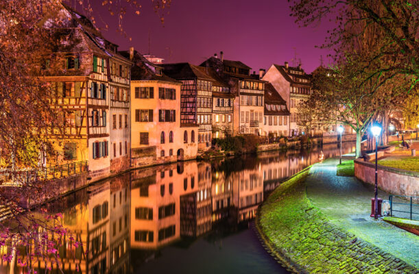 Straßburg Nacht