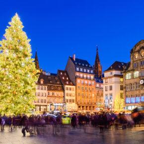 In der Weihnachtszeit nach Straßburg: 2 Tage am Wochenende im 4* Hilton Hotel mit Frühstück nur 37€