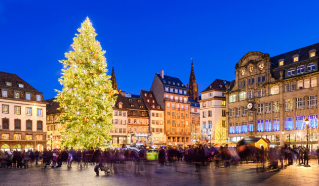 Straßburg Weihnachtsbaum