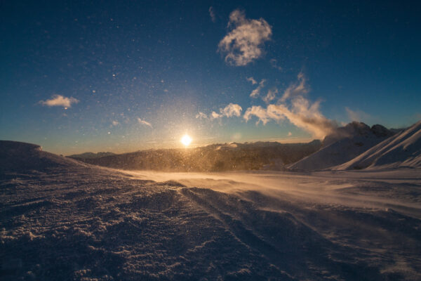 Südtirol Sonnenuntergang
