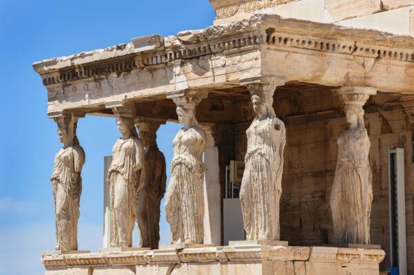 Athen Caryatids Acropolis
