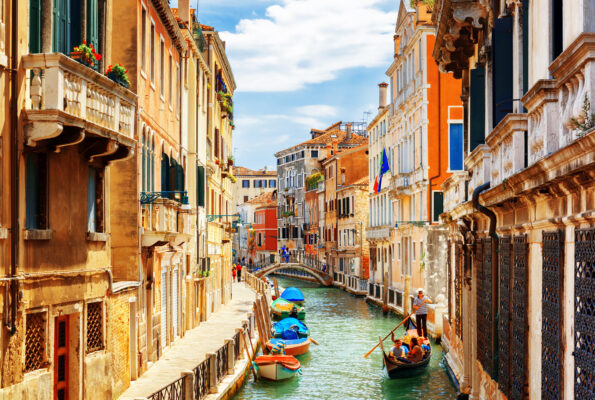 Venedig Rio Marin Kanal