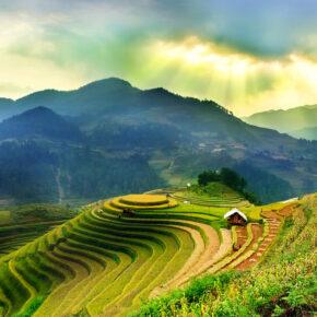 Backpacking in Vietnam: 17 Tage Rundreise mit Unterkünften & Flügen für 525€