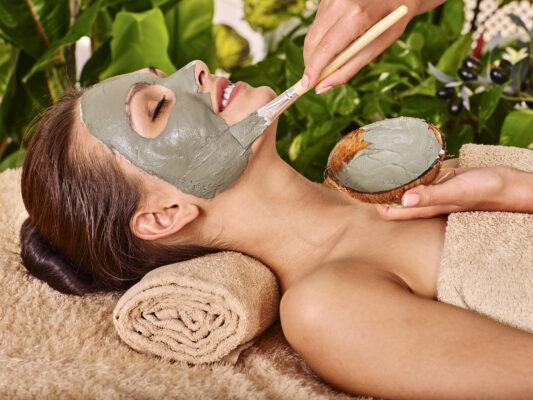 Wellness Gesichtsmaske