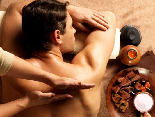 Wellness Rückenmassage