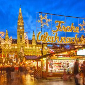 Weihnachtsmarkt: 2 Tage Wien mit TOP Unterkunft nur 10€
