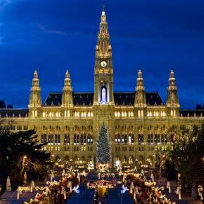 Weihnachtsmarkt-Wochenende: 3 Tage Wien mit zentralem Hotel nur 26€