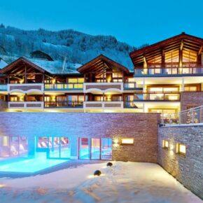 Ein Traum im Skigebiet für wenig Geld: 8 Tage im 5* Resort in Österreich ab 182 €
