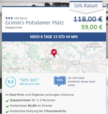 3 Tage Berlin am Potsdamer Platz