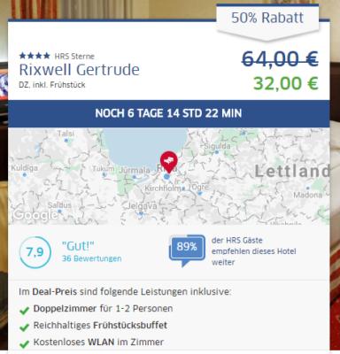 3 Tage Riga Hotel