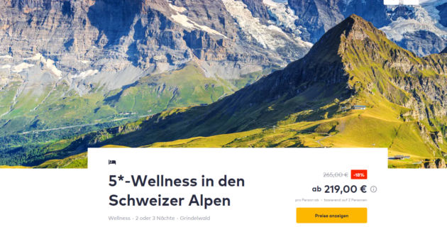 3 Tage Schweiz