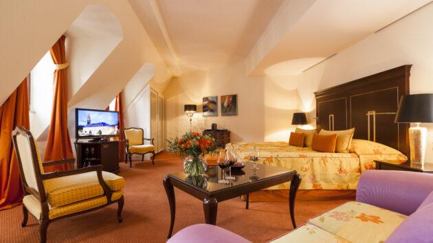 Hotel Bülow Palais Zimmer