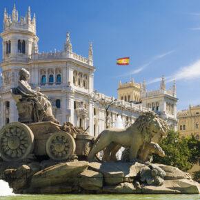 Madrid: 3 Tage Kurztrip in zentraler TOP Unterkunft mit Flug nur 78€