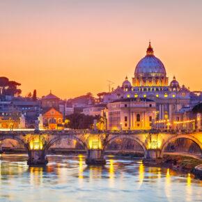 Rom übers Wochenende: 4 Tage mit gutem 4* Hotel mit Frühstück & Flug nur 69€