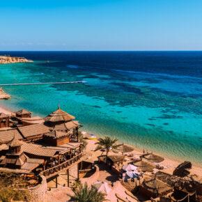 Lastminute: 4 Tage über's Wochenende nach Hurghada im TOP 4* Hotel mit All Inclusive, Flug & Transfer nur 116€