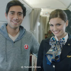 Turkish Airlines zaubert mit Youtube-Star Zach King neues Sicherheitsvideo