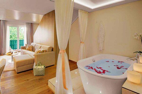 Wellness Hotel Sonnengut Badewanne