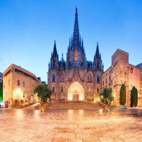 Barcelona am Wochenende: 3 Tage mit 4* Hotel & Flug nur 90€