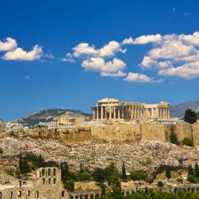 Wochenende in Athen: 3 Tage mit zentralem Hotel für 7€