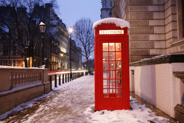 London im Winter