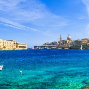 Frühbucher: 7 Tage Malta im TOP 3.5* Hotel mit Frühstück & Flug für 181€