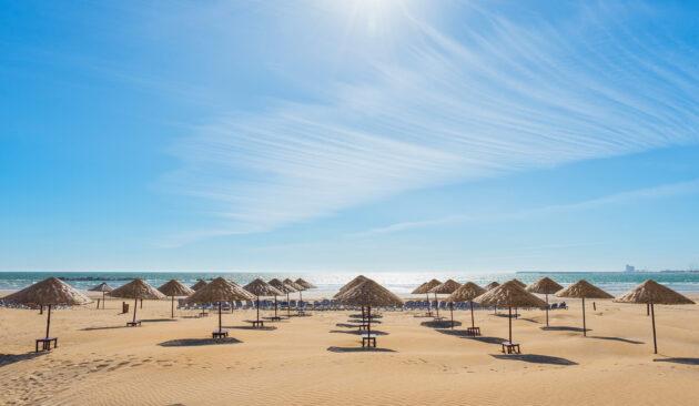 Marokko Strandschirme