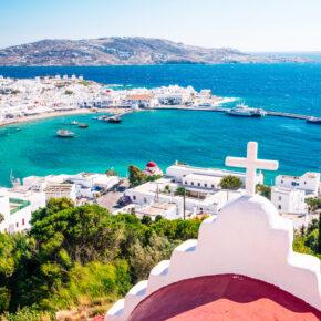 Mykonos: 8 Tage in Griechenland im 4* Hotel mit Frühstück & Flug nur 190€