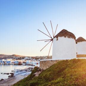 Frühbucher: 8 Tage Mykonos mit Flug, TOP 3* Hotel & Transfer nur 288 €