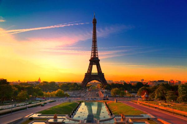 Paris Sonnenuntergang