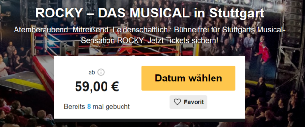 Rocky das Musical in Stuttgart