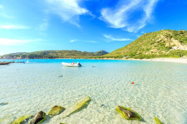 Sardinien Blaues Wasser